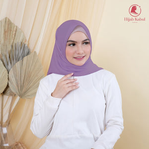 Hijab Dusty Purple Syakira