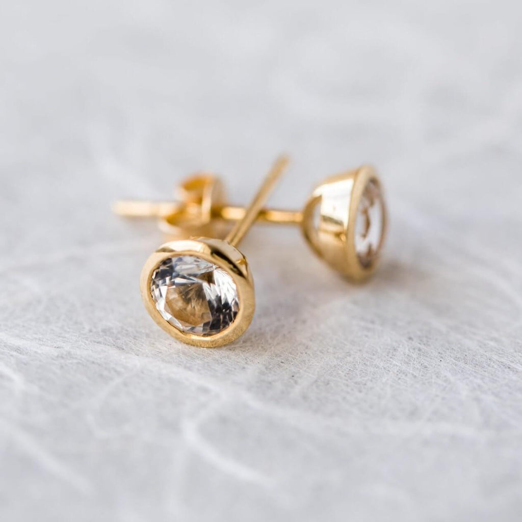 Stella Stud Earrings (9K)
