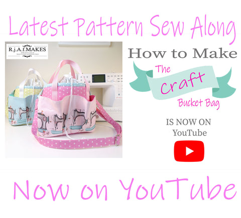 Sew Along Playlist for the Craft Bucket Bag