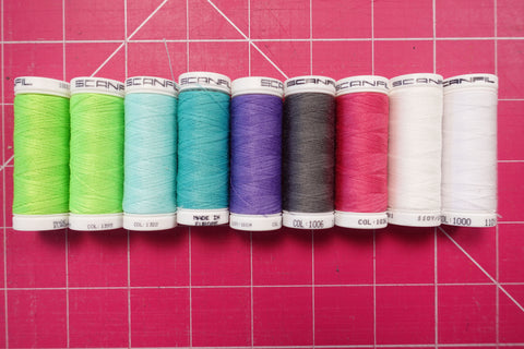 Scanfil Universal Sewing Thread 100 Metre Spool Polyester (Great for Bag Making)