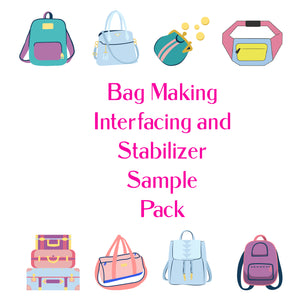 Bag Making Interfacing and Stabilizer Sample Pack