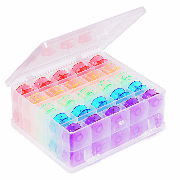 Bobbin Box: Plastic filled with 50 Spools