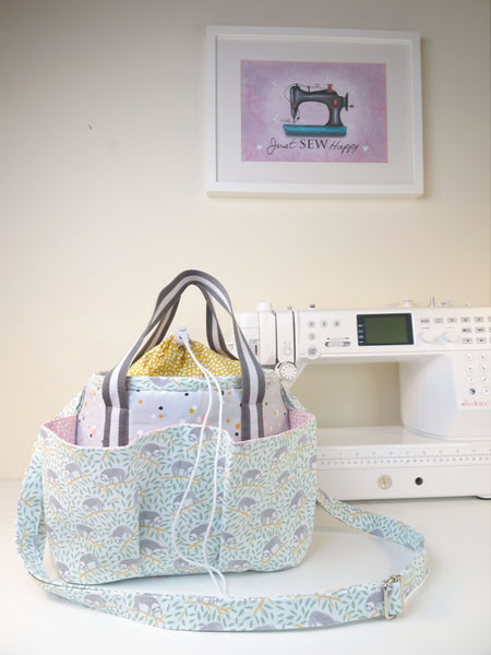 "PAPER Version ""The Craft Bucket Bag"" Sewing Pattern"