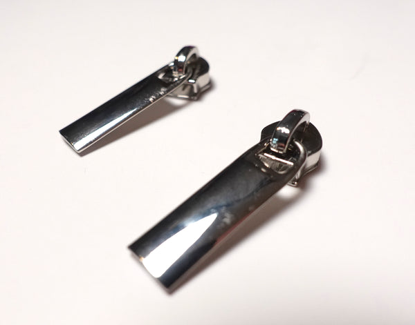 No5 Rectangular Zipper Pulls Pack of 2