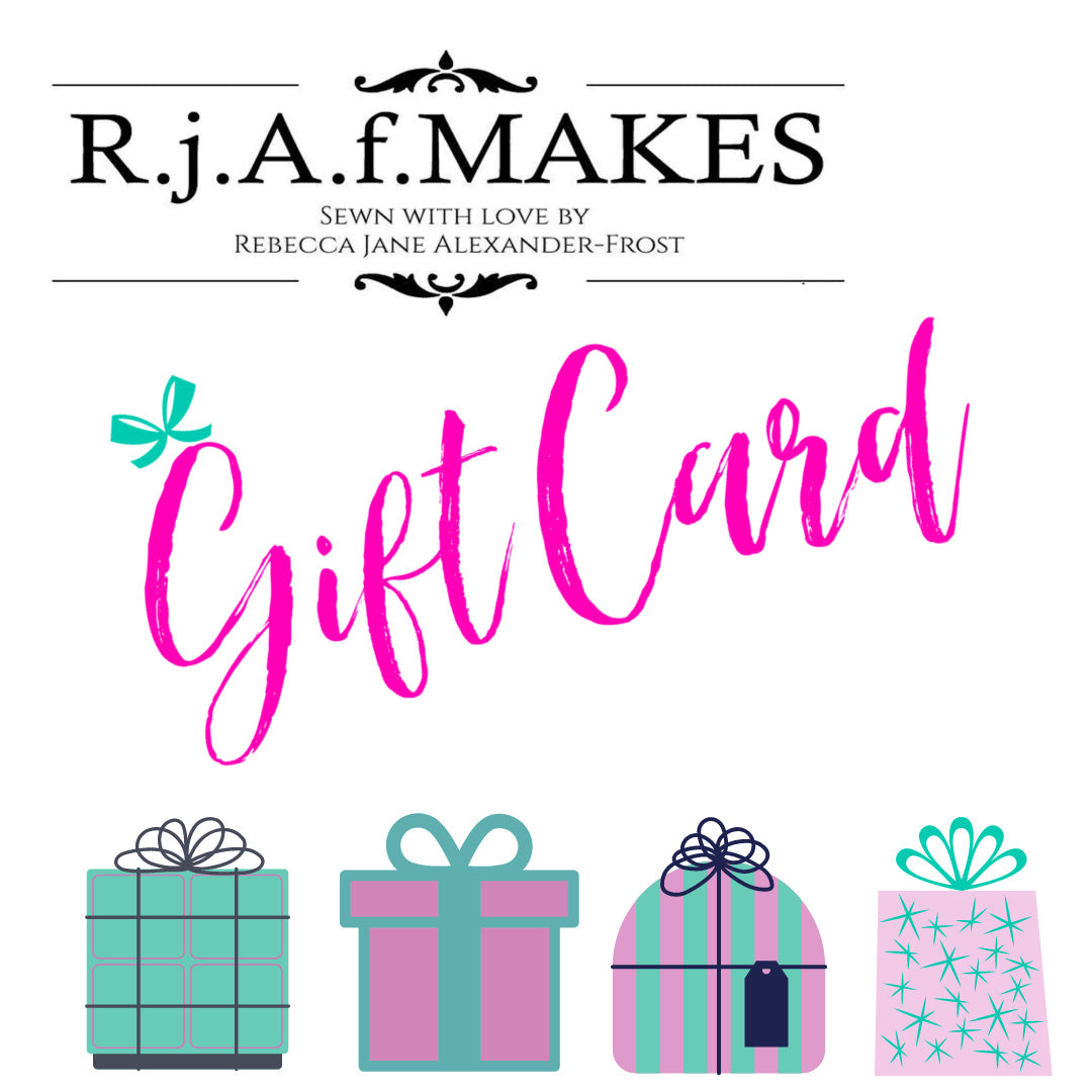 R.j.A.f. MAKES E Gift Cards