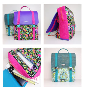 "DIGITAL DOWNLOAD ""The Commuter Backpack"" Sewing Pattern"