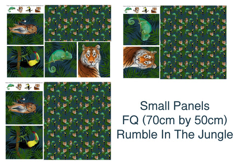 Small Panels FQ Rumble In The Jungle IN STOCK