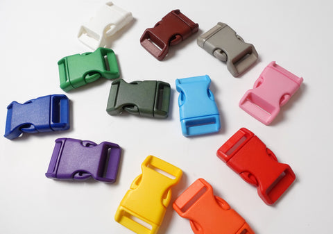 1 Inch Plastic Quick Release Buckles for Backpacks Set of 2
