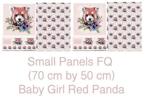 Small Panel Red Panda FQ IN STOCK