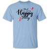 I Think I'll Just Be Happy Today Shirt, Womens Clothing, Positive Quote, Motivational T-Shirt, Gift for Women, Women's Tee
