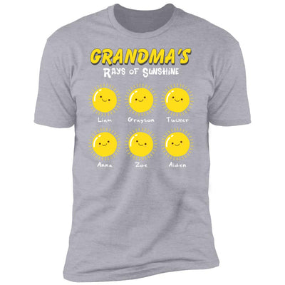 Customizable Shirt for Grandmother, Mothers Day Gift, Women's Tee, Grandma Gift, Gift for Her