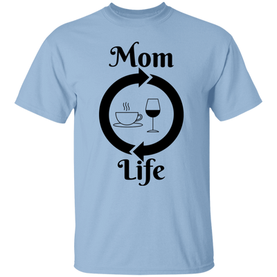 Mom Life Coffee Wine Shirt, Motherhood Shirt, Mothers Day Gift, TShirt for Women, Women's Tee, Mom Gift, Coffee Wine Shirt, Gift for Her