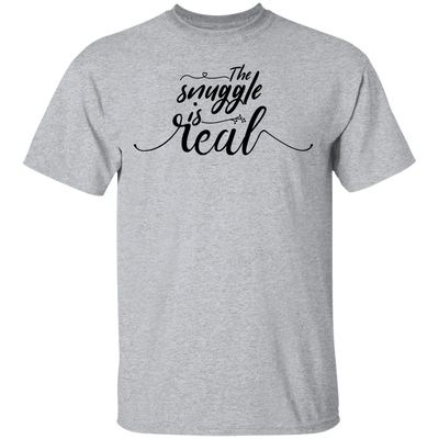 The Snuggle is Real Shirt, Cute T-Shirt, Funny Shirt, Womens Graphic Tee, Cozy, Sleep, Nap, Weekends, Womens Gift, Tops & Tees