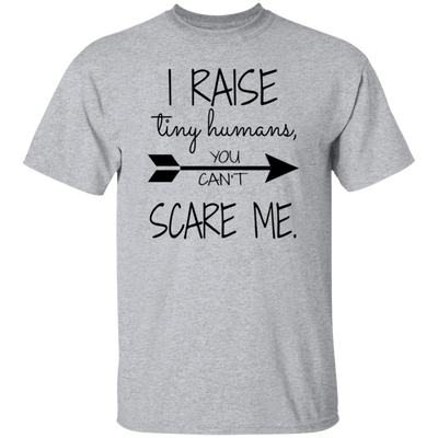 I Raise Tiny Humans, You Can't Scare Me Shirt, Motherhood Shirt, Mothers Day Gift, Women's Tee, Mom Gift, Gift for Her