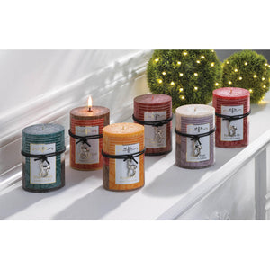 SNOWY WINTER WOODS SCENTED CANDLE 3X4