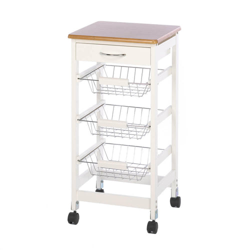 Kitchen Side Table Trolley