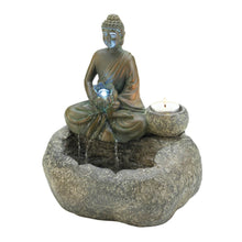 Load image into Gallery viewer, Buddha Tabletop Fountain