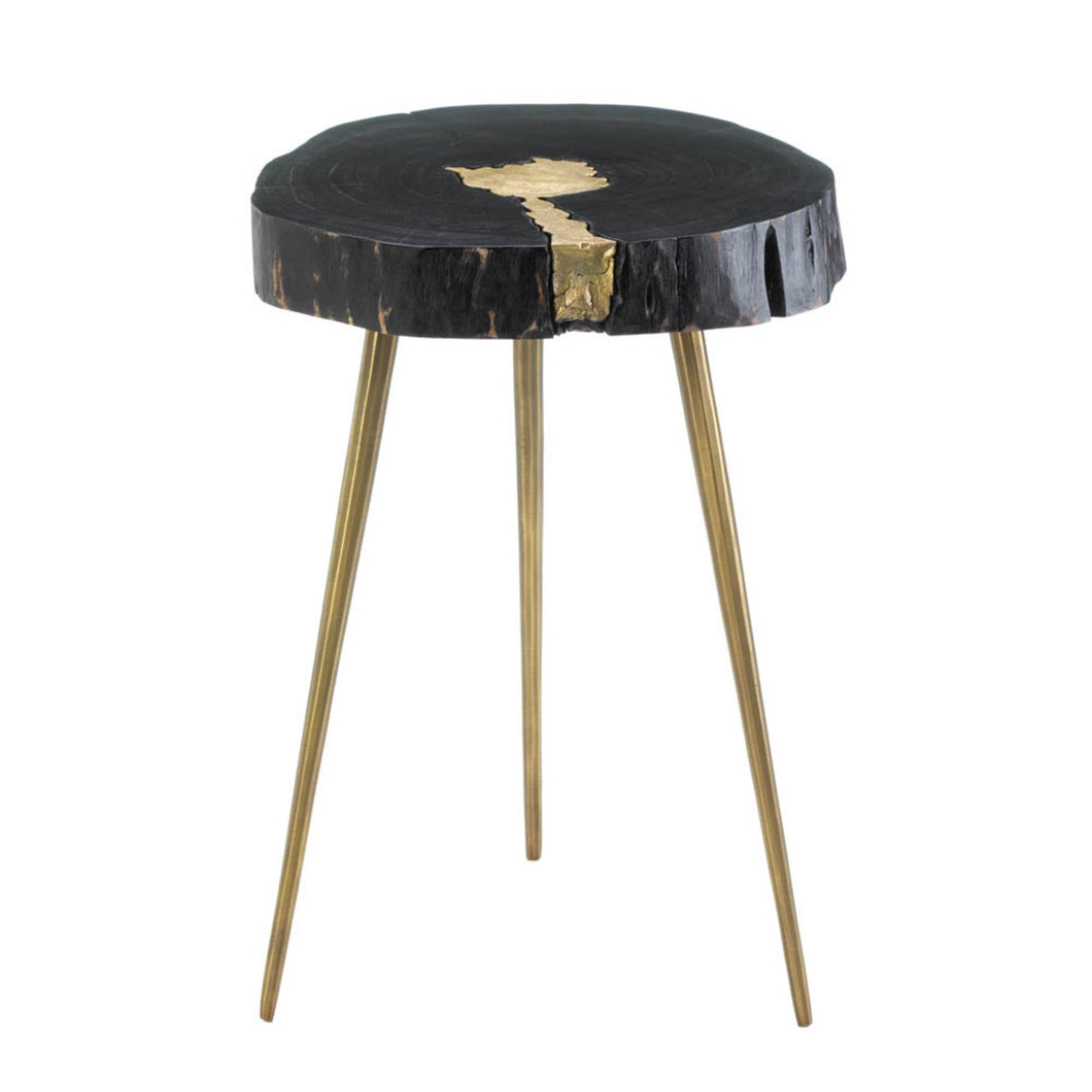 Aurora Edge Wood Stool