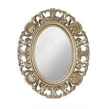 Load image into Gallery viewer, Golden Scallop Wall Mirror