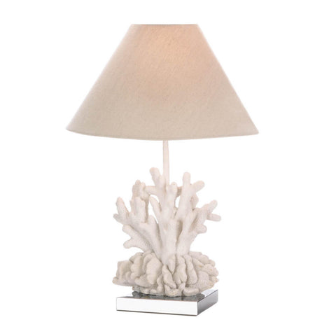 White Coral Lamp