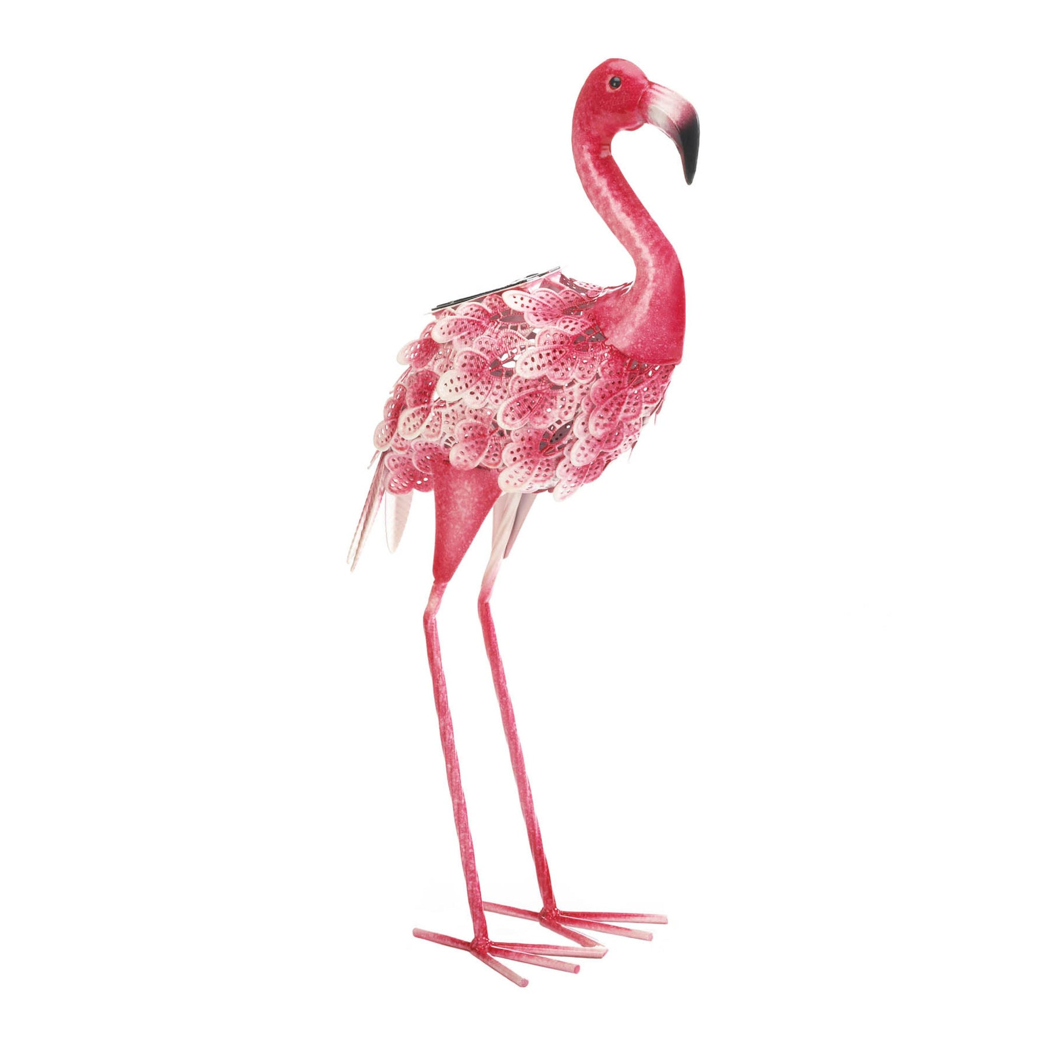 Pretty Flamingo With Solar Light