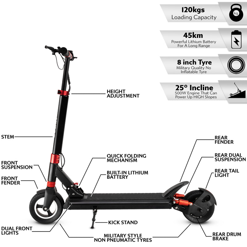 Solar E1 Electric Scooter - Solarscooter