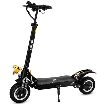 Solar P1 Electric Scooter - Black