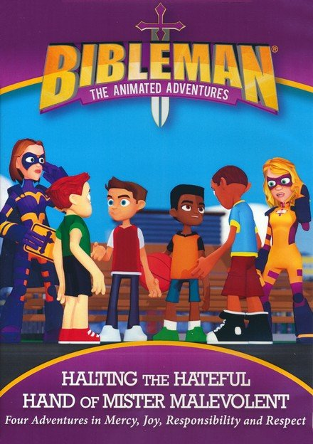 Bibleman: Halting the Hateful Hand of Mister Malevolent DVD