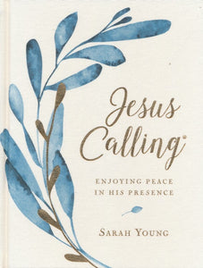 Jesus Calling by Sarah Young, Linen Edition