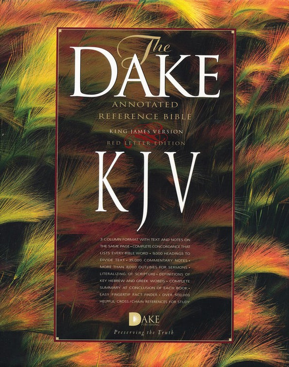 KJV The Dake Annotated Reference Bible Assortment