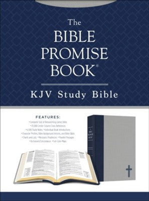 KJV The Bible Promise Book Bible - Oxford Navy