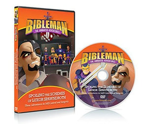 Bibleman: Spoiling the Schemes of Luxor Spawndroth  DVD