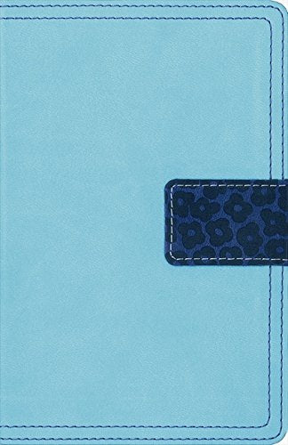 NIV Thinline Compact Bible - Turquoise/Blueberry