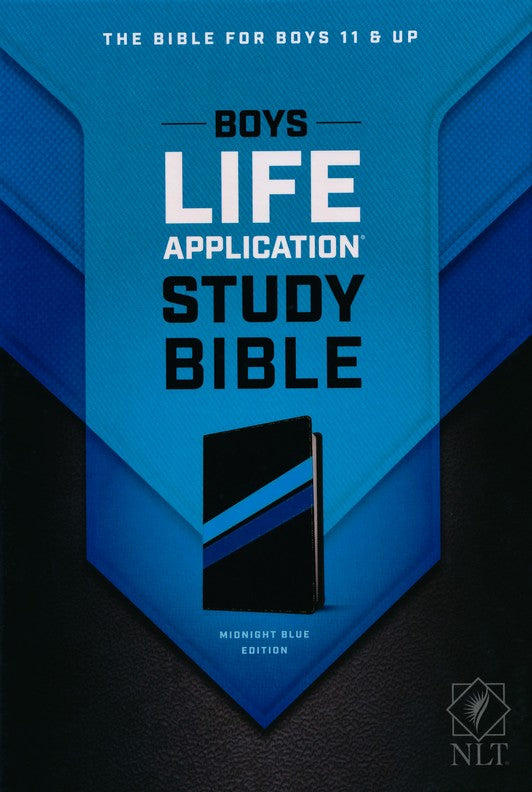 NLT Boys Lift Application Study Bible: Midnight Blue