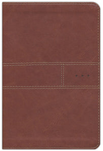 NIV Every Man's Bible - Journeyman Edition, Leatherlike