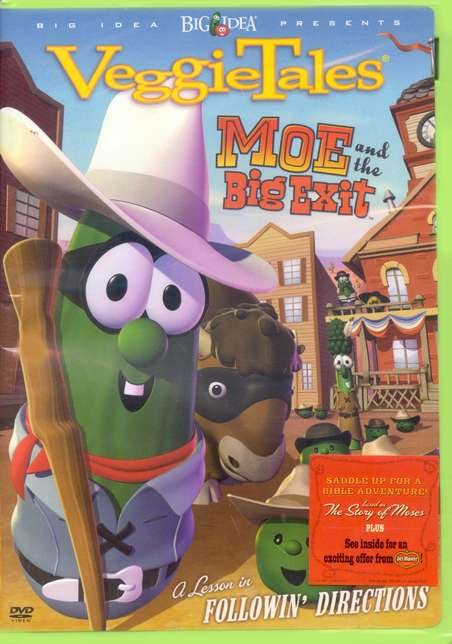 VeggieTales: Moe and the Big Exit DVD