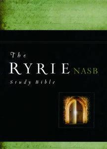 NASB The Ryrie Study Bible: Black Bonded Leather