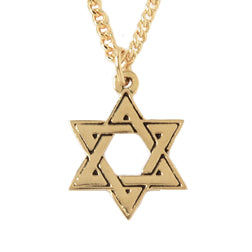Star of David Interlocking Necklace