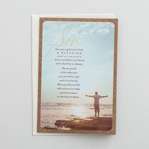 Greeting Card: For our Son