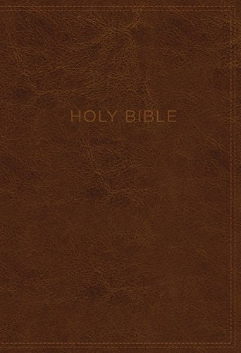 KJV Know the Word Study Bible: Brown Leathersoft