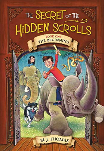 The Secret of the Hidden Scrolls Series by M.J. Thomas