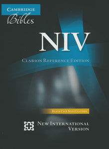 NIV Clarion Reference Edition: Black Goatskin Leather