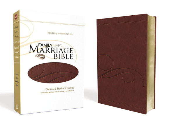 NKJV Familylife Marriage Bible: Burgundy LeatherSoft Edition