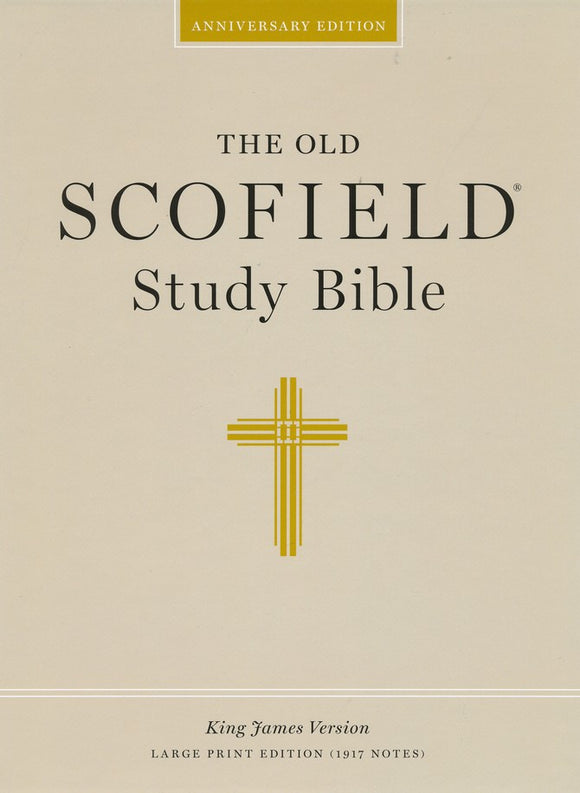 KJV The Old Scofield Study Bible - Large Print Edition Assortment