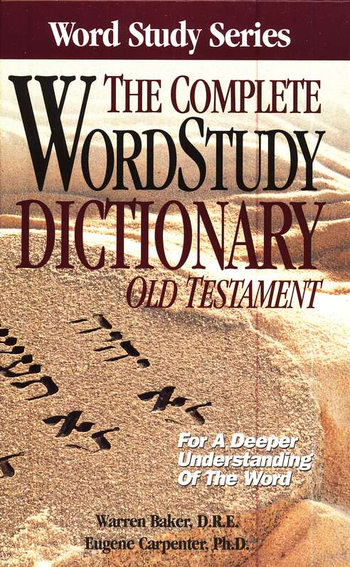 The Complete WordStudy Dictionary Assortment