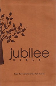Jubilee Bible - with Dictionary - Brown Imitation Leather