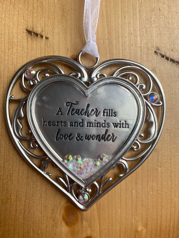 Glitter Hearts: Teacher