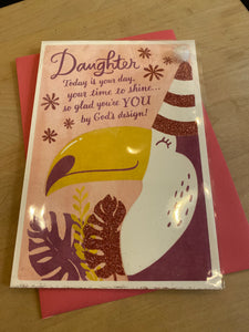 Birthday: Daughter