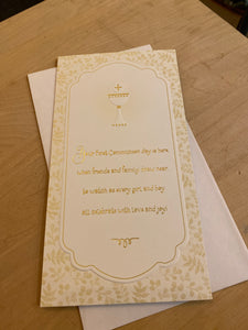 1st Communion: For Anyone, Money/Gift Card