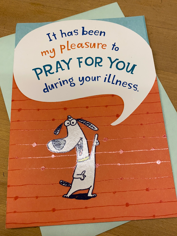 Praying for You: During an Illness